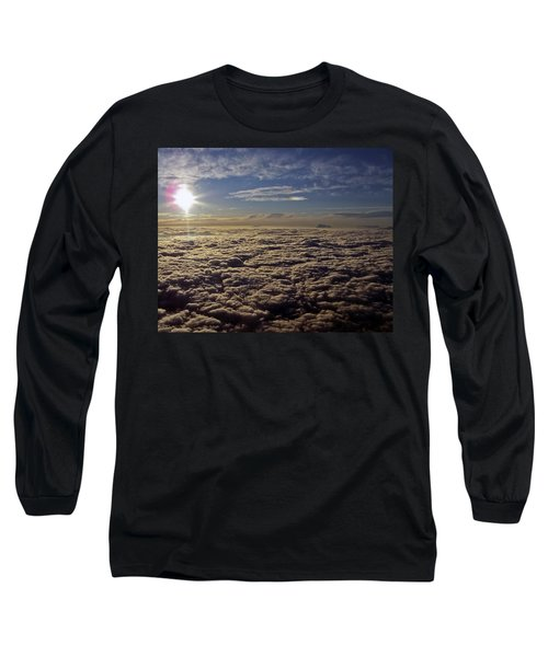 Long Sleeve T-Shirt featuring the photograph Undercast And Sun by Greg Reed