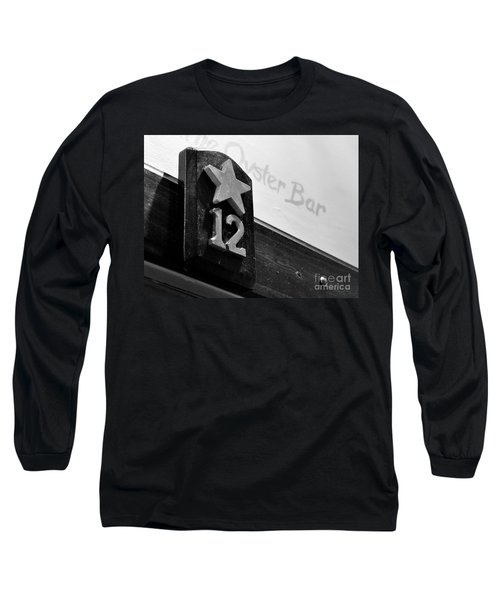 Union Oyster House Booth Boston Ma Long Sleeve T-Shirt