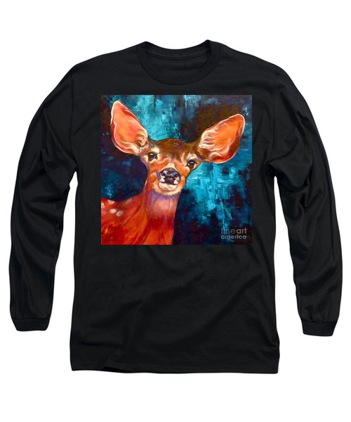 Uniquely Fawn Long Sleeve T-Shirt