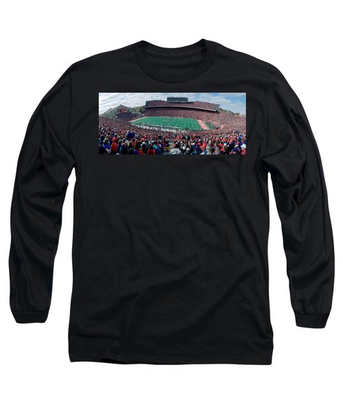 University Of Wisconsin Football Game Long Sleeve T-Shirt