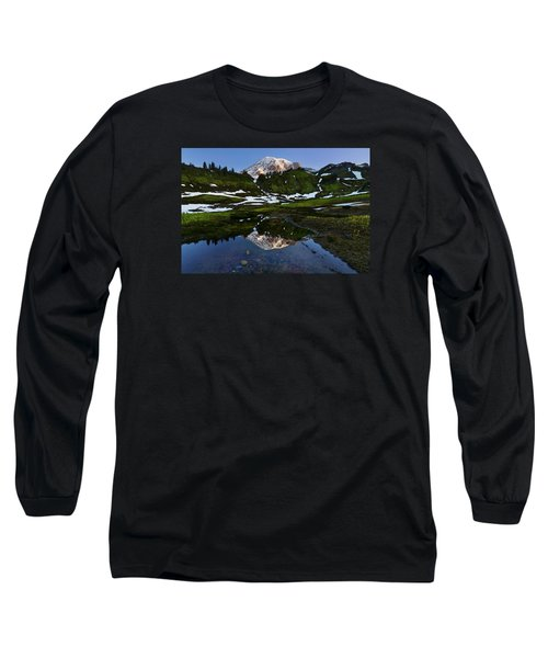 Untarnished View Long Sleeve T-Shirt by Ryan Manuel
