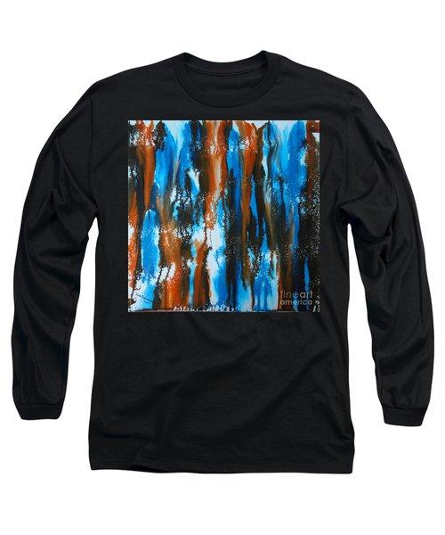 Winter Vs. Summer Long Sleeve T-Shirt