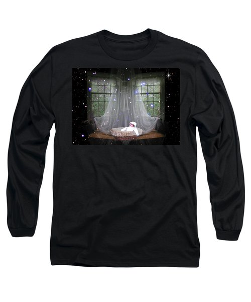 Long Sleeve T-Shirt featuring the photograph Unto Us A Child Is Born by Paula Ayers