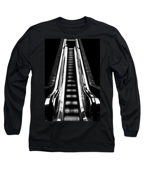 Up Or Down Long Sleeve T-Shirt by Mark Alder