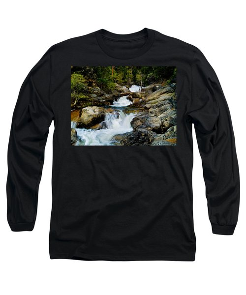 Up The Creek Long Sleeve T-Shirt by Bill Gallagher