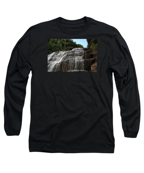 Up The Falls Long Sleeve T-Shirt