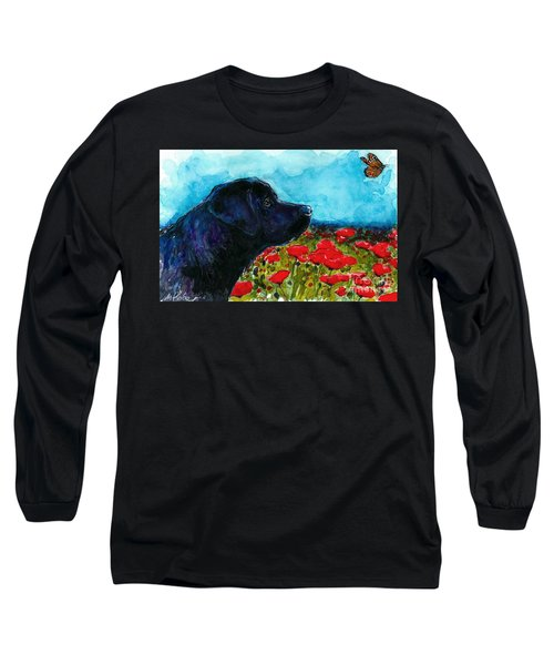 Updraft Long Sleeve T-Shirt by Molly Poole
