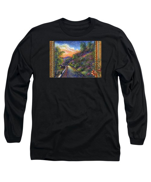 Uphill Long Sleeve T-Shirt by Retta Stephenson