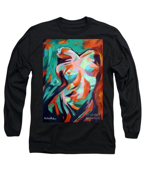 Uplift Long Sleeve T-Shirt by Helena Wierzbicki