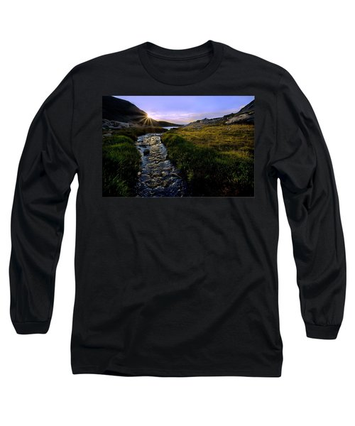 Upper Blue Sunrise Long Sleeve T-Shirt