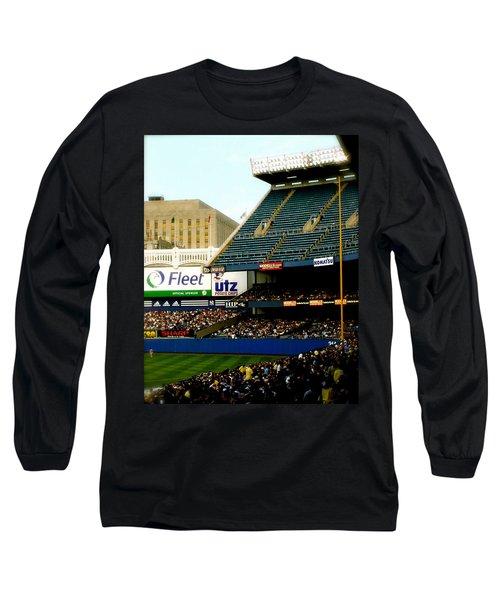 Upper Deck  The Yankee Stadium Long Sleeve T-Shirt