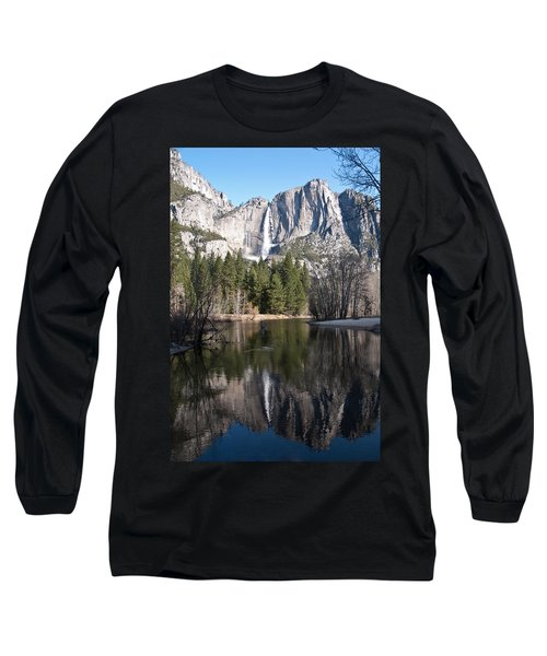 Upper Yosemite Fall Long Sleeve T-Shirt