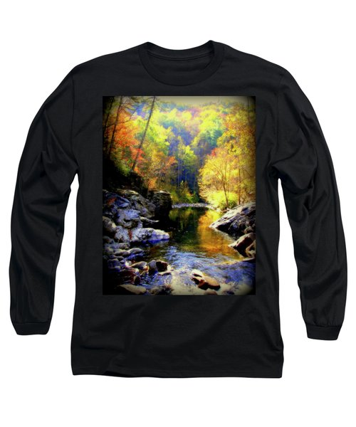 Upstream Long Sleeve T-Shirt by Karen Wiles
