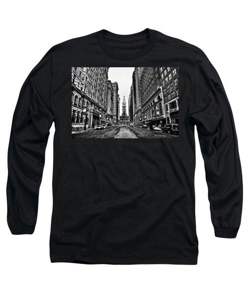 Urban Canyon - Philadelphia City Hall Long Sleeve T-Shirt