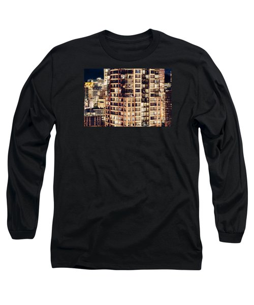 Long Sleeve T-Shirt featuring the photograph Urban Living Dclxxiv By Amyn Nasser by Amyn Nasser