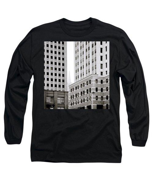 Urban San Francisco Long Sleeve T-Shirt by Shaun Higson