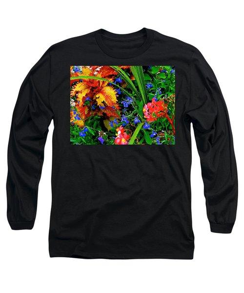 Van Gogh's Garden Long Sleeve T-Shirt