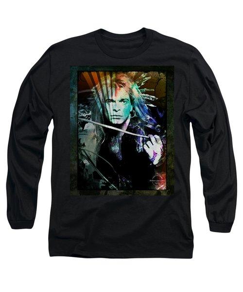 Van Halen - David Lee Roth Long Sleeve T-Shirt
