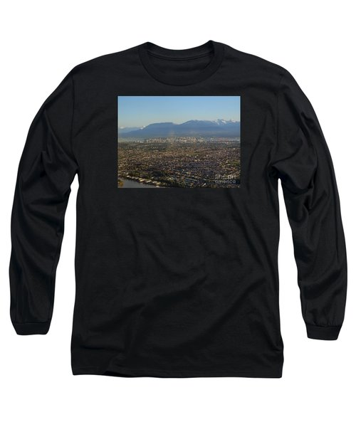 Vancouver At A Glance Long Sleeve T-Shirt