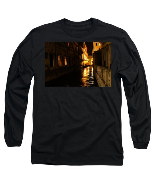 Venetian Golden Glow Long Sleeve T-Shirt