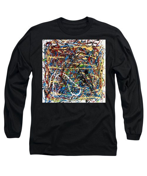 Venice Beach - Sun Tan Long Sleeve T-Shirt by Elf Evans