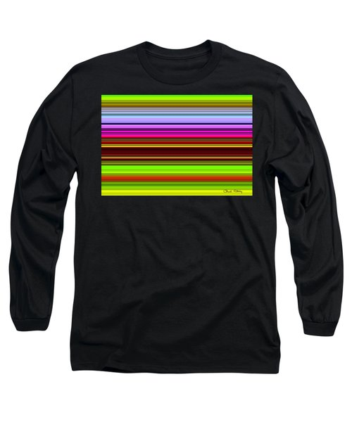Venice Flower Abstract Long Sleeve T-Shirt