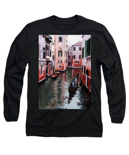 Venice Gondola Ride Long Sleeve T-Shirt