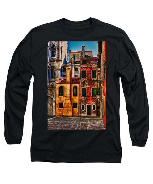 Venice Homes Long Sleeve T-Shirt by Jerry Fornarotto