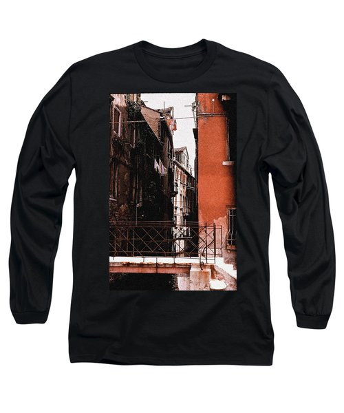 Long Sleeve T-Shirt featuring the photograph A Chapter In Venice by Ira Shander