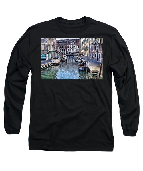 Venice Italy Iv Long Sleeve T-Shirt
