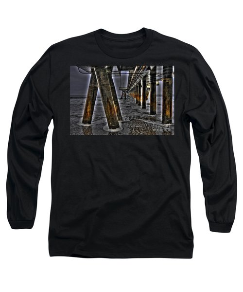 Venice Pier Darkly Long Sleeve T-Shirt