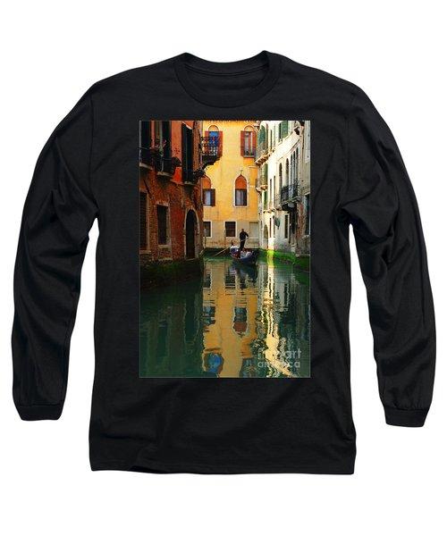 Venice Reflections Long Sleeve T-Shirt