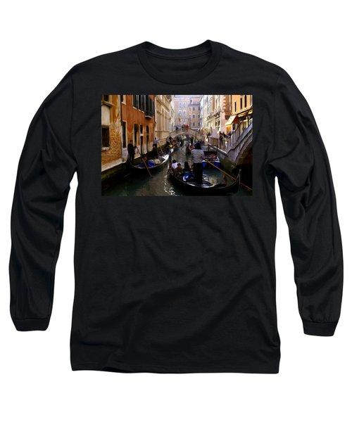Venice Long Sleeve T-Shirt by Ron Harpham