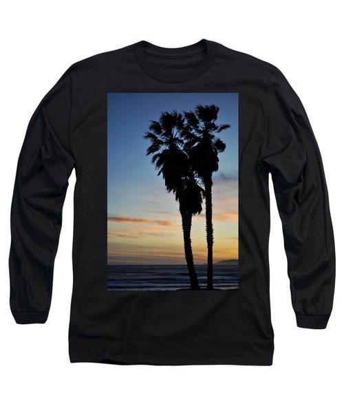 Ventura Palm Sunset Long Sleeve T-Shirt