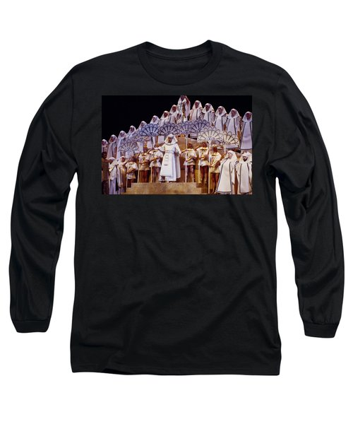 Verdi Aida Long Sleeve T-Shirt by Shaun Higson