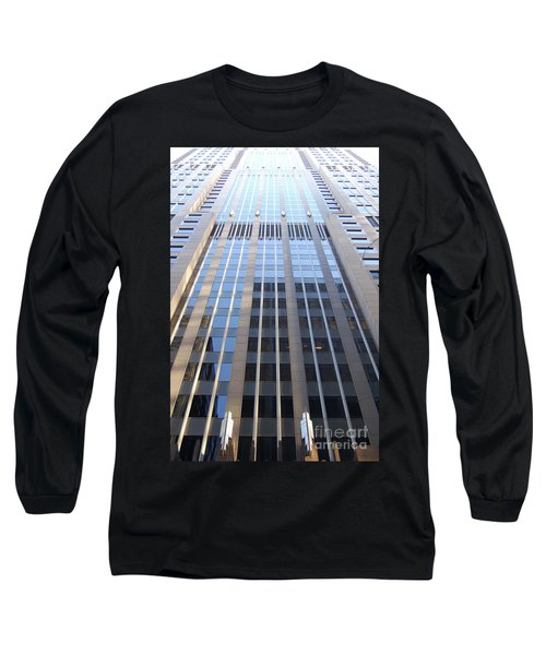 Vertical Chicago By Jammer Long Sleeve T-Shirt