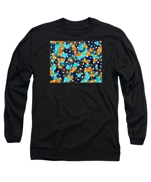 Vertigo Long Sleeve T-Shirt by Donna  Manaraze