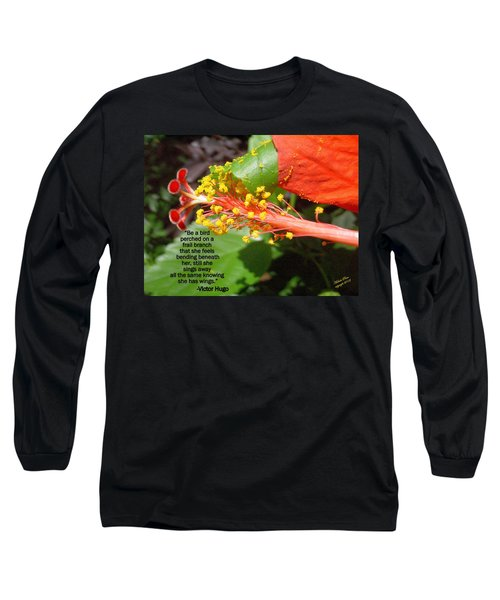 Victor Hugo Long Sleeve T-Shirt