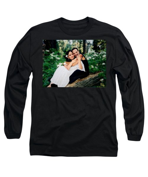Victoria And Her Man Of God Long Sleeve T-Shirt