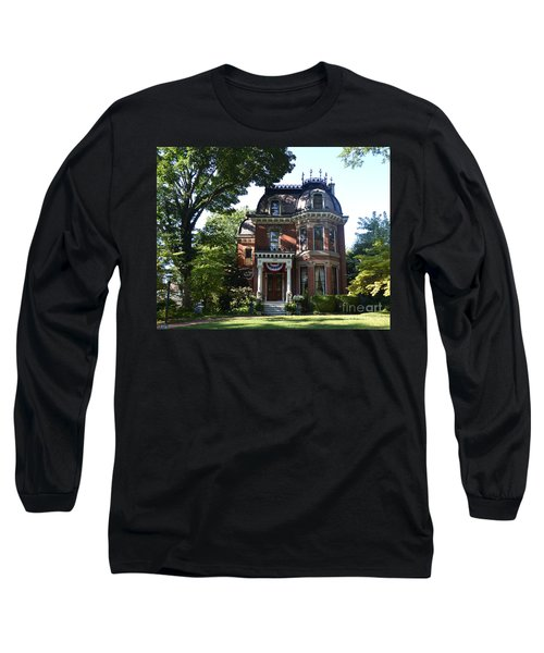 Victorian Beauty Long Sleeve T-Shirt by Luther Fine Art