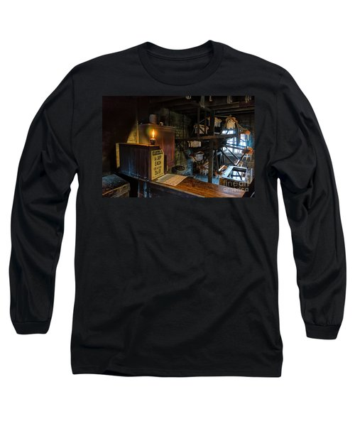 Victorian Candle Factory Long Sleeve T-Shirt by Adrian Evans