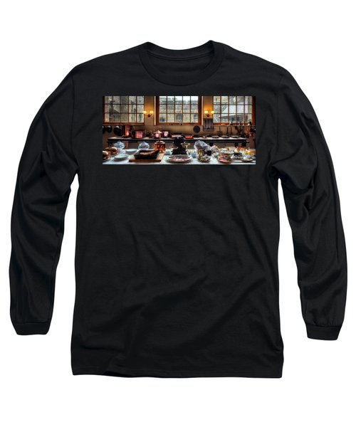 Victorian Kitchen Long Sleeve T-Shirt