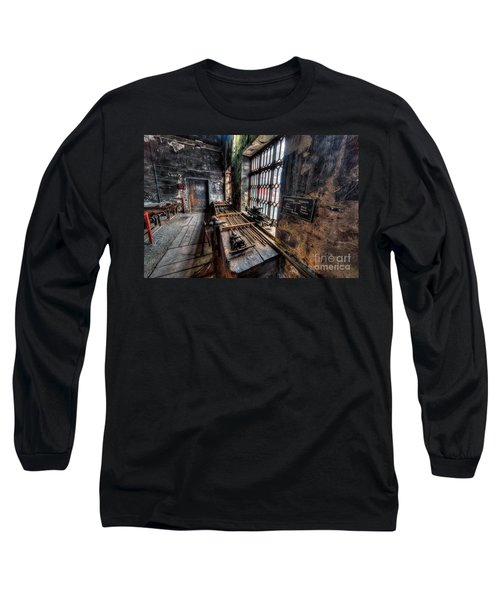 Victorian Workshops Long Sleeve T-Shirt by Adrian Evans