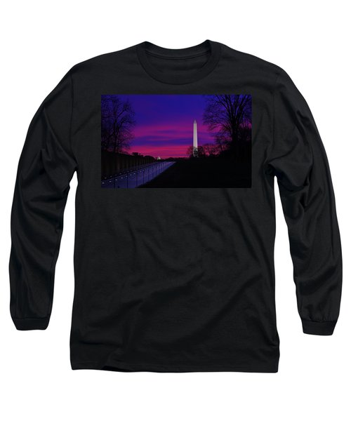 Vietnam Memorial Sunrise Long Sleeve T-Shirt