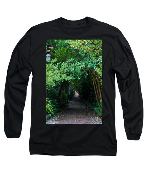 View Down Philadelphia Alley Long Sleeve T-Shirt