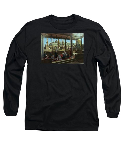 View From Egypt Long Sleeve T-Shirt by Laila Awad Jamaleldin