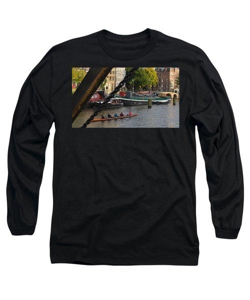 'skinny Bridge' Amsterdam Long Sleeve T-Shirt