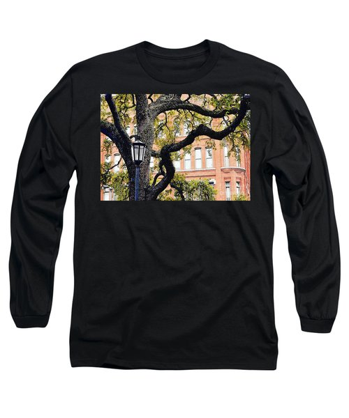 View From The Square Long Sleeve T-Shirt by Lydia Holly