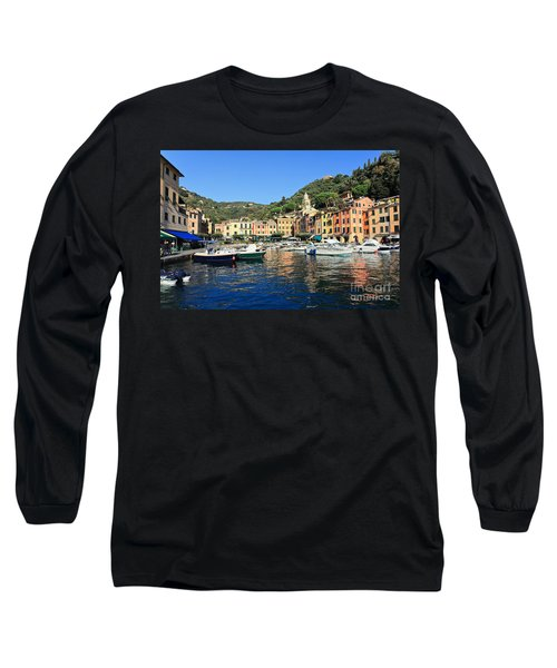 view in Portofino Long Sleeve T-Shirt