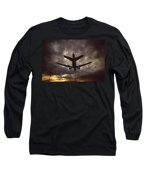 View Of Plane Long Sleeve T-Shirt